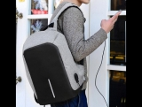 Рюкзак Bobby от XD Design с защитой от вскрытия и интерфейсом для зарядки гаджетов