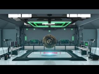 After affects - element 3d - plasma laser portal