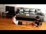 Ayak gıdıklama challenge 2