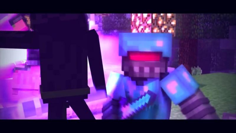 ЗАЧАРОВАННЫЙ - Майнкрафт Клип (На Русском) НЕ МОЁ - Enchanted Minecraft Animation Parody Song RUS