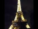 красавица. эйфелевая башня