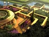 Вавилон. Висячие сады.  Начало VII века до нашей эры