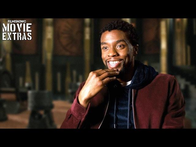 Black Panther | On-set visit with Chadwick Boseman