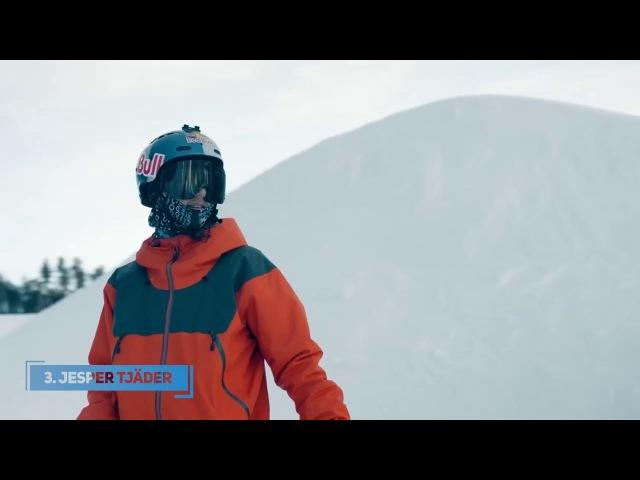 TOP5 Skiers of 2018 | Tom Wallisch, Andri Ragettli, Jesper Tjäder, Bobby Brown, Candide Thovex