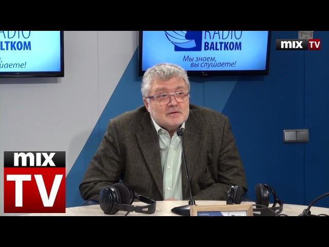 Российский писатель, поэт, драматург Юрий Поляков в программе Встретились, поговорили MIXTV