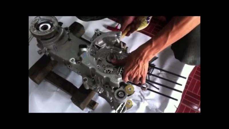 Rahasia Mekanik Thailand Korek Mesin Mio Drag 200cc