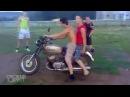 Мото приколы 2016 Придурки на мотоциклах с канала свежий х хруст