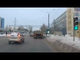 Перестроился перед самым носом МАЗа. Северодвинск.