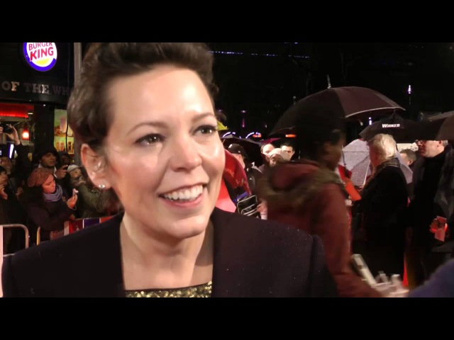 Olivia Colman Interview Cuban Fury World Premiere