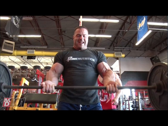MD101- Evan Centopani on Barbell Curls