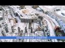 ЖК PARUS, Северодвинск. Аэросъемка хода строительства, январь 2018