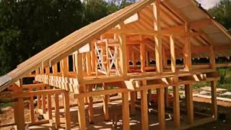 Time-lapse строительства дома BVH