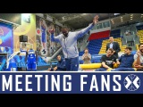 Khimki players meeting the fans by khimkibasketTV