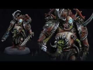Warhammer 40k  Death Guard  Plague Marine  Tutorial