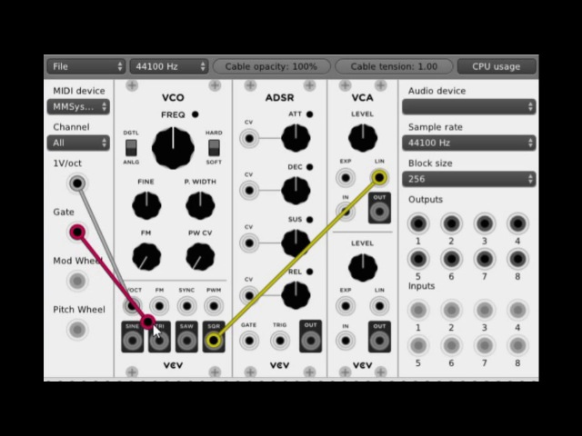 VCV Rack Tutorial - Making your first sounds