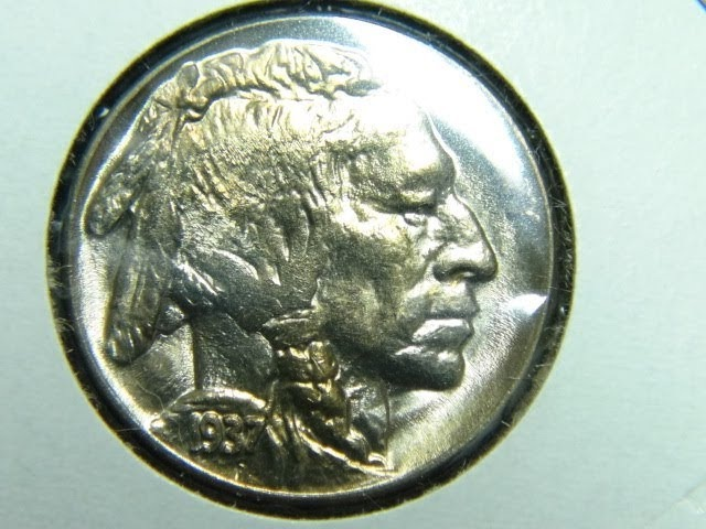 Buffalo Nickles 1916-1913-1935-TWO-1936-TWO-1938 D-Three-1937