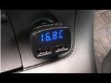 Автомобильный USB разветвитель в прикуриватель