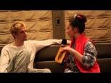 AARON CARTER Interview w PAVLINA in JAX, FL 2014 World Tour - YouTube