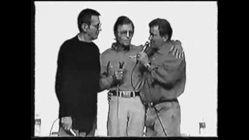 DeForest Kelley, Leonard Nimoy, William Shatner 1995 part 3