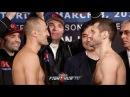 SERGEY KOVALEV VS. IGOR MIKHALKIN - FULL WEIGH IN & FACE OFF VIDEO