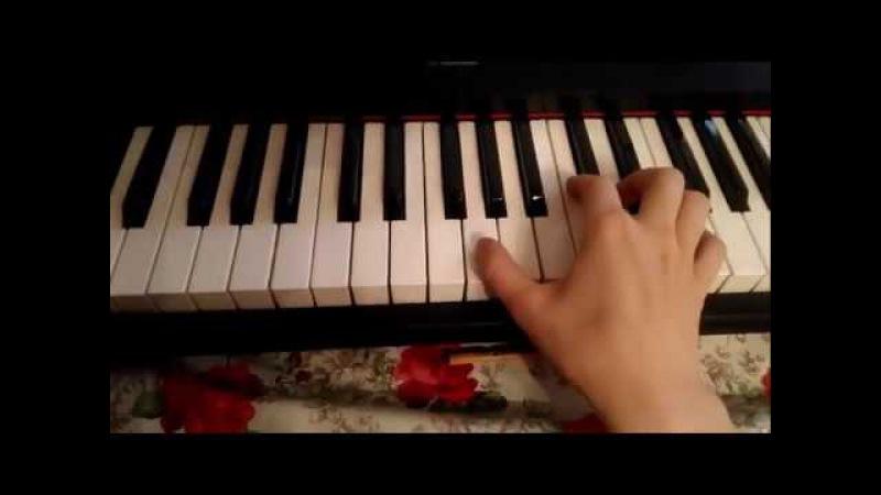 Разбор ПРАВОЙ РУКИ в красивой мелодии по запросу