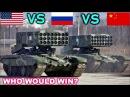 USA vs RUSSIA vs CHINA .Who Will Win?? Military Power Comparisons 2018