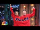 Double Turtleneck Ping Pong with Jessica Alba Late Night with Jimmy Fallon