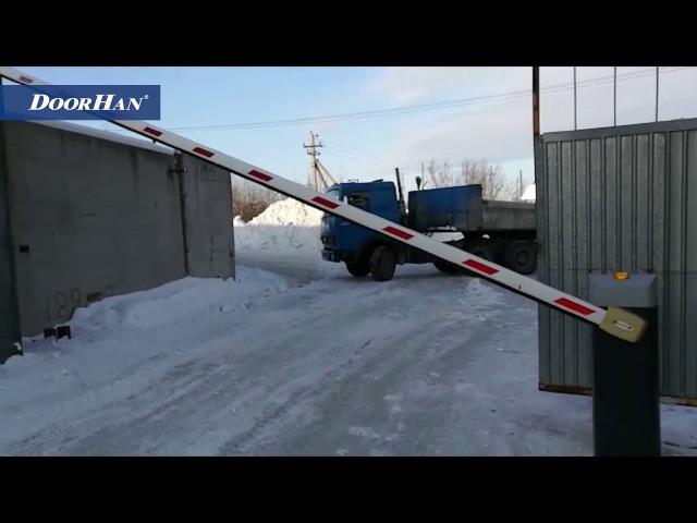 Отзывы о работе автоматики DoorHan зимой. Часть 1