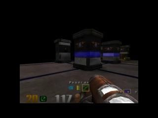 Quake 3 arena. Rungo7 VS Xaero. Nightmare !