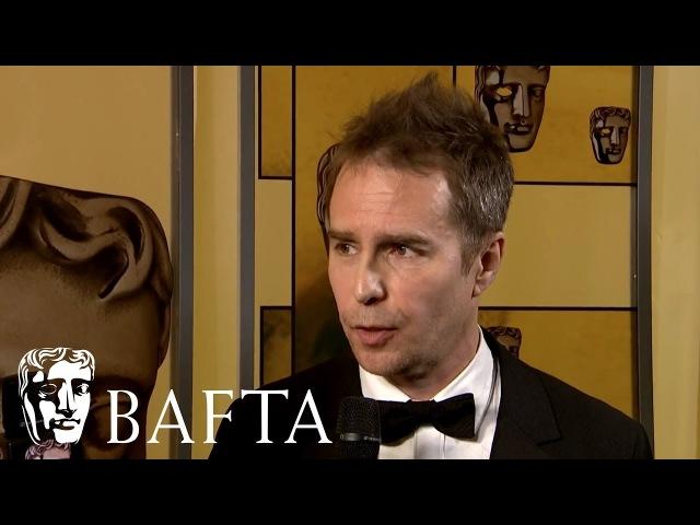 Sam Rockwell's Backstage Interview   EE BAFTA Film Awards 2018