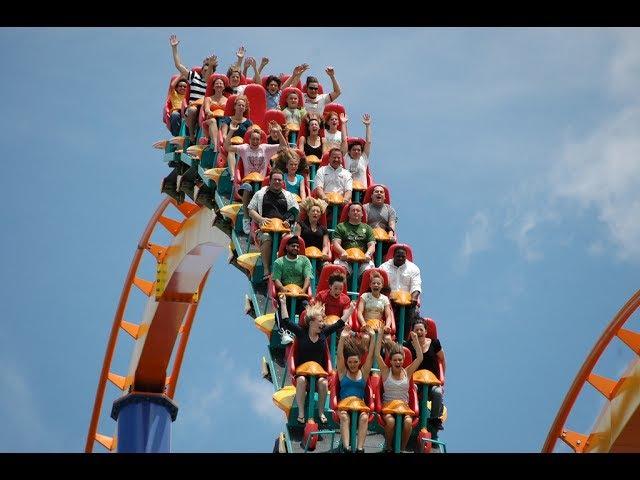 VJ ALEX wild roller coaster The roller coaster