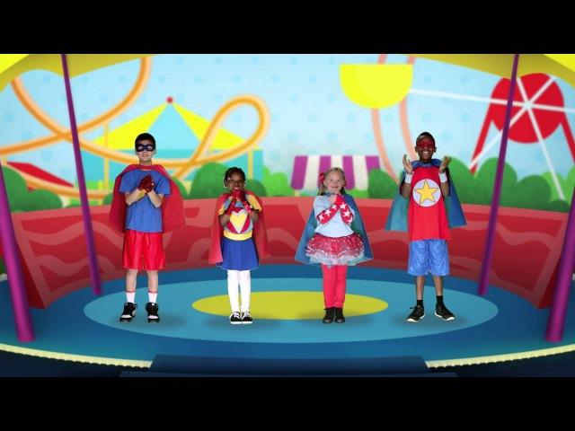 Let's Go Heroes!   Preschool Song