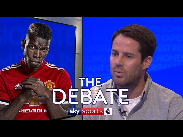 Whats the problem with Paul Pogba | Jamie Redknapp Danny Higginbotham | The Debate