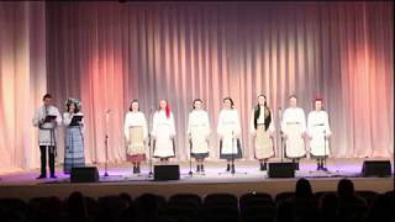 Отчетный концерт хоровой музыки 2017 Гродненский колледж искусств