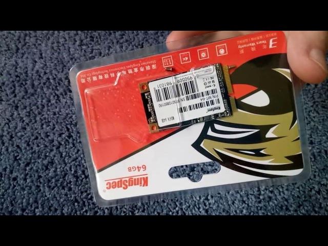 MSATA SSD накопитель KingSpec MT-64 64GB