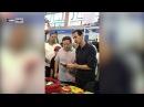 Как встречают Башара Асада ледяного диктатора подавляющего народ жители Сирии