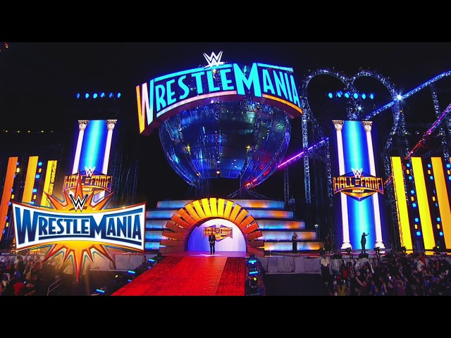 WWE of Fame Class of 2017 Inductees are honored at WrestleMania 33