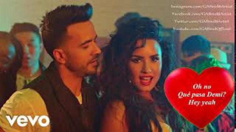 Echame La Culpa - Luis Fonsi Demi Lovato LYRICS 2017