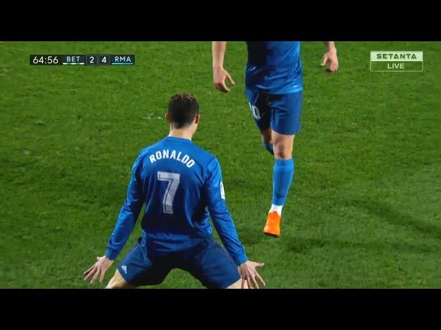 Cristiano Ronaldo Vs Betis Away 17-18 (18/02/2018) HD 1080i
