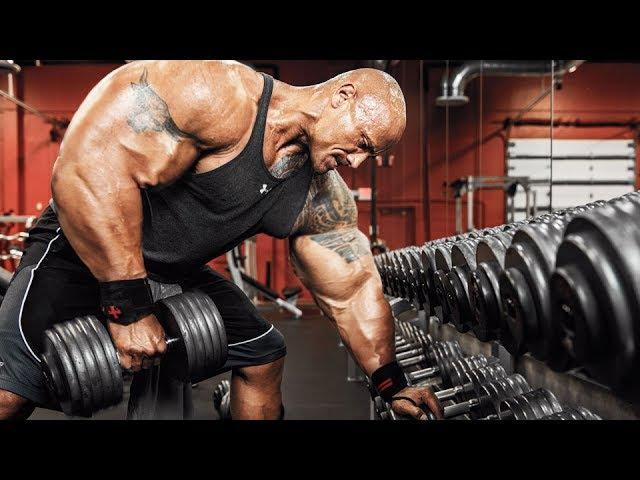Dwayne 'The Rock' Johnson Workout 2017 - Massive Monster
