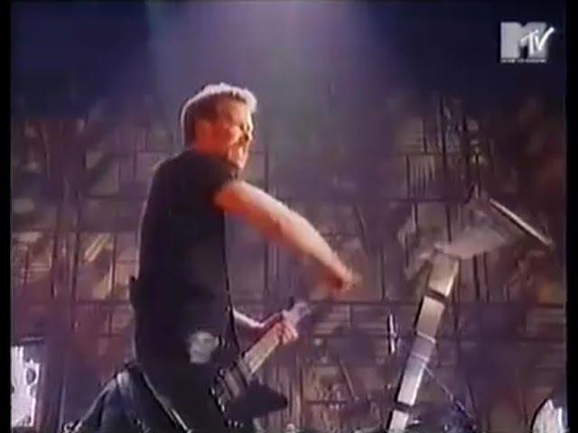 Metallica - Last Caress / So What?! [Live @ MTV Europe Music Awards (1996)]