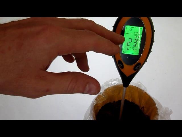 Ph метр для почвы AMT-300 - для садоводов и огородников