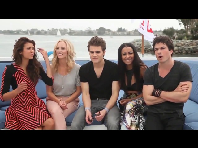 The Vampire Diaries Cast FunnyCute Moments