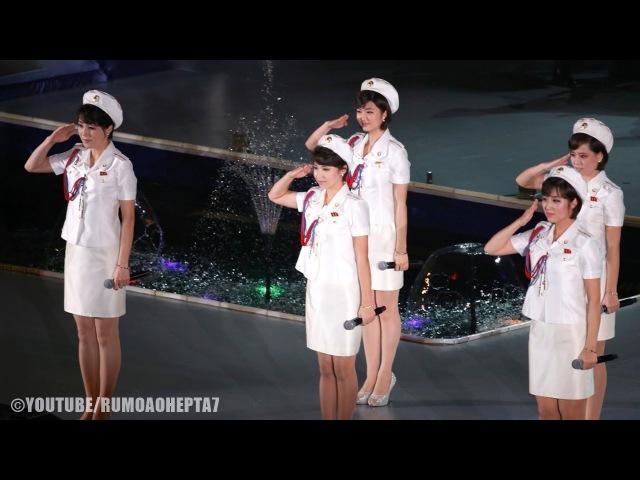 North Korean Moranbong Band: 달려가자 미래로 Dash to the Future (English Translation)