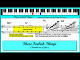 These Foolish Things - Jazz piano tutorial