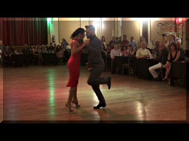 2 tangos y una milonga. Grande! Javier Rodriguez y Moira Castellano en Yira Yira Milonga