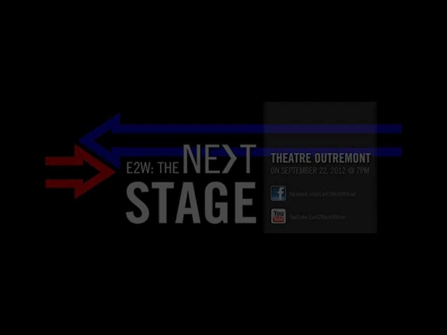 [EAST2WEST] Contest Winner of the pair of E2W: The Next Stage tickets