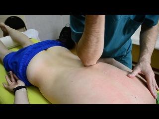 Общий массаж спины - Техника и секреты исполнения (Студия ручного массажа)