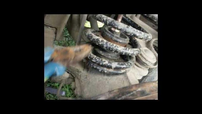 Как поставить пружины на ниссан серена с23 и ларго