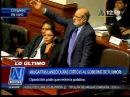 CanalN Daniel Abugattás llamó ratero a Alberto Fujimori y se negó a retirar el término